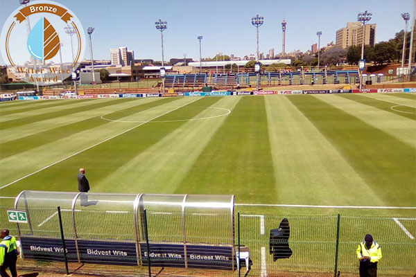 Servest Landscaping & Turf, a division of Servest Pty Ltd<br/>for<br/> Wits University Soccer Stadium