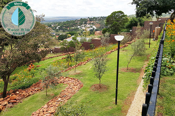Servest Landscaping & Turf, a division of Servest Pty Ltd <br/>for<br/> Department of Public Works - Ministerial House C, 205 Strelizia Rd