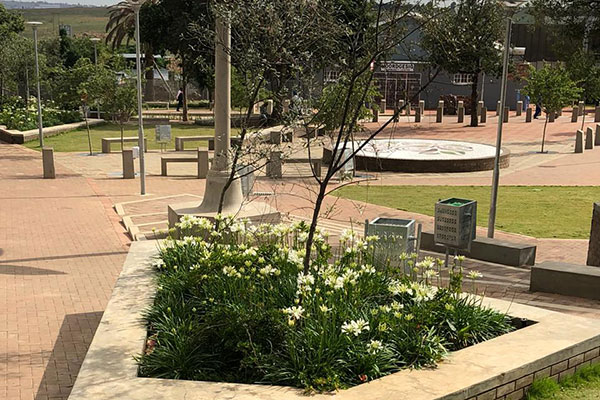Tswellapele Plants<br/>for<br/>Construction of Noordgesig Plaza<br/>and Colin Drive Intersection