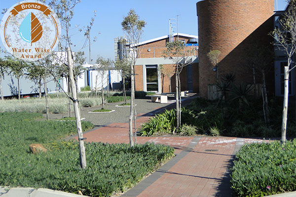 Rothe Plantscapers <br/>for<br/> Sasol Brandspruit living Quarters - Admin Building